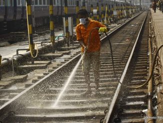 cleaning-railway-station-india