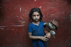 INDIA-11310, India, 2010, A young girl in India.Retouched_Sonny Fabbri