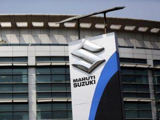 Corporate office of Maruti Suzuki India Limited is pictured in New Delhi