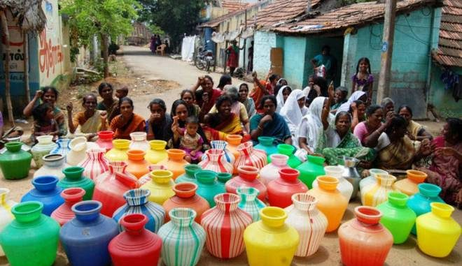 water scarcity in india
