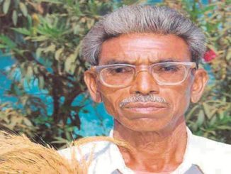 Dadaji Ramaji Khobragade, a Dalit farmer-innovator and breeder of more than half a dozen rice varieties from Nanded village of Maharashtra's Chandrapur district. (Archive)