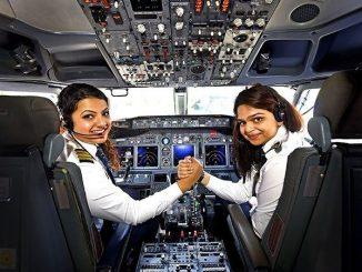 Indian female pilots