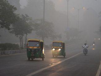 new delhi inquinamento