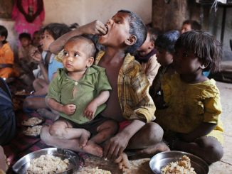 hunger problem in india